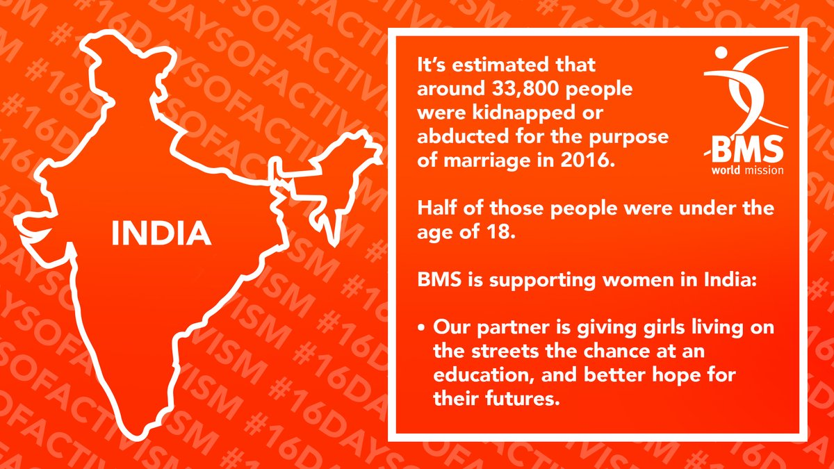 test Twitter Media - 🧡 #16DaysOfActivism  🧡 BMS' partners are working with and protecting vulnerable women in India.  🧡 If you would like to support work like this click here: https://t.co/ia6zfgOlyI https://t.co/SnVKD9Hf62