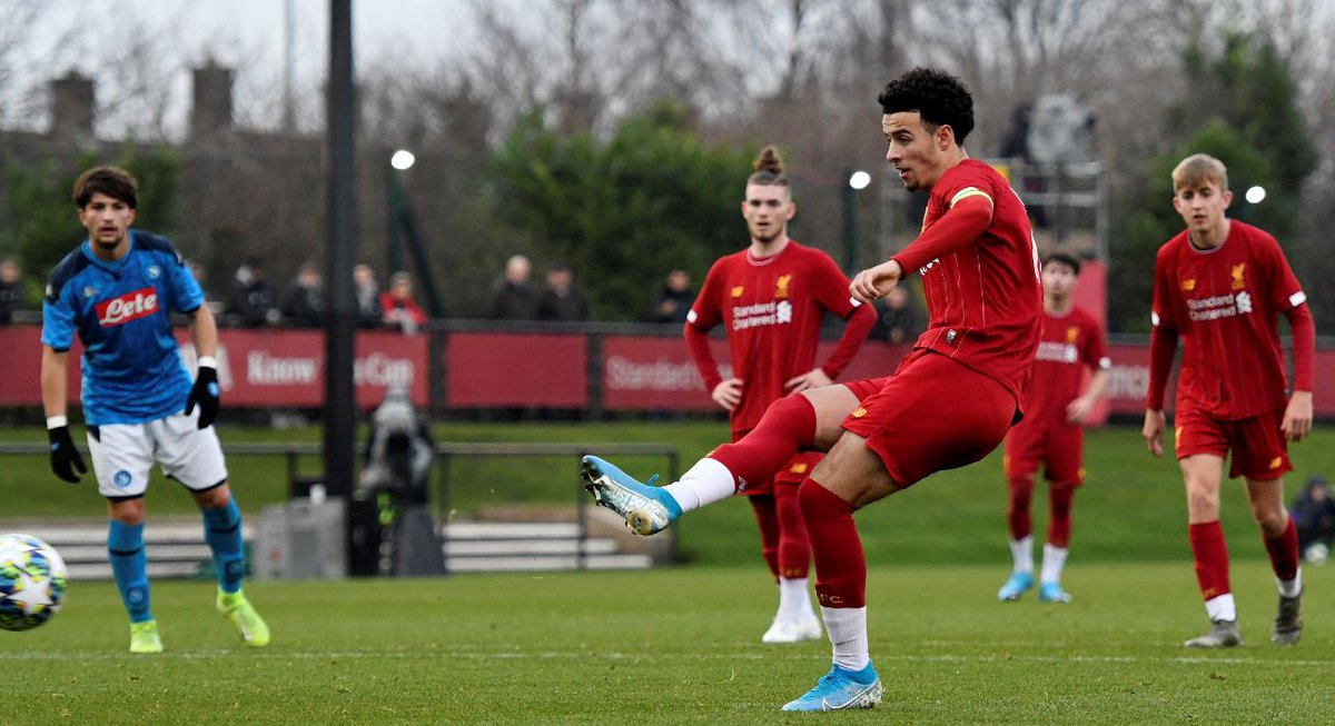 A prolific scorer in the #UYL ⚽⚽⚽⚽⚽⚽⚽⚽⚽⚽⚽⚽⚽  Congratulations @curtisjr_10 on his first @ChampionsLeague goal for @LFC 🙌🙌🙌🙌