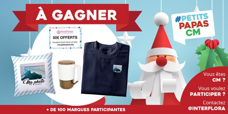 ❤️Nous avons un gagnant pour les goodies personnalisés et le bon d'achat offerts par Printoclock #PetitsPapasCM  🎅Félicitations à Sébastien G. de Champniers qui remporte le sweat personnalisé, le coussin personnalisé, le mug et un bon d'achat de 50 € à valoir sur tout le site !
