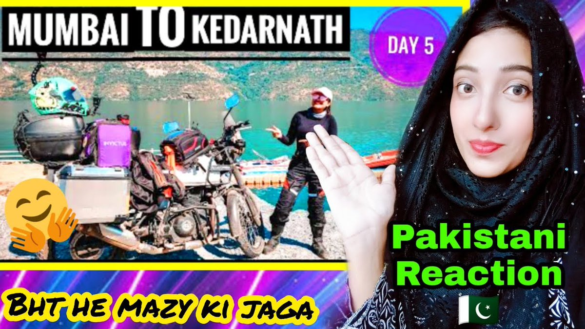 Pakistani Reaction On 250KMs Towards KEDARNATH || UTTARKHAND- Rider girl Vishakha-Day 5 #india #pakistan #kedarnath #uttarkhand @youtube  Watch video click here https://t.co/TwnYsnuVwS https://t.co/OoT8NHjgIC