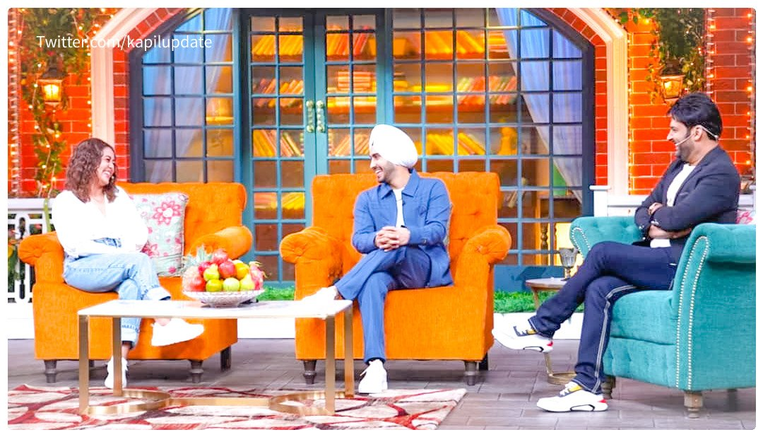 #Update Newly wed couple neha and rohanpreet on the sets of #tkss !!