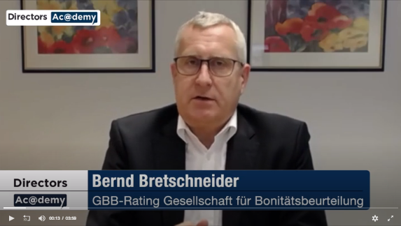 Video: Wert des Qualifikationsnachweises von Aufsichtsräten für Ratingagenturen und Investoren....