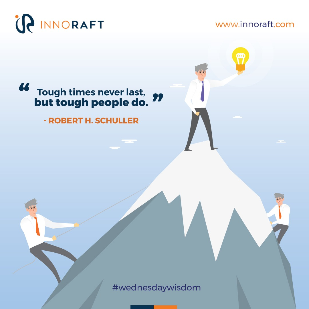 People who overcome obstacles always believe that all problems melt away if all your intelligence, abilities, and skills are used to solve them.  Similarly at #Innoraft, we believe in providing #solutions that will help to overcome any tech-related hurdles.   #wednesdaywisdom