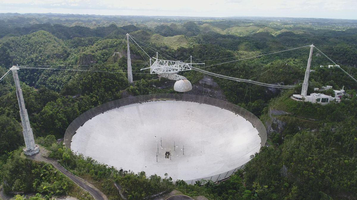 Rest In Peace Arecibo. Iconic AreciboObservatory radio telescope collapses after cable broke :-(