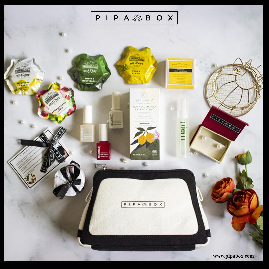 Pipabox's opulence edition. #pipabox #beautybox #pipablog #pipabeautytips #wednesdaythought #wedding #Wednesday #skincare #makeup