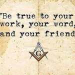 Image for the Tweet beginning: Be true to your work,
