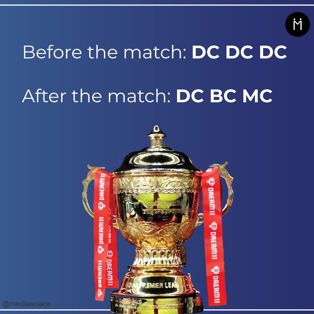 Smog ke wajah se jeet dikhi nahi! . . . #IPL2020 #MumbaiIndians #DelhiCapitals #IPLFinal #IPLFinal2020