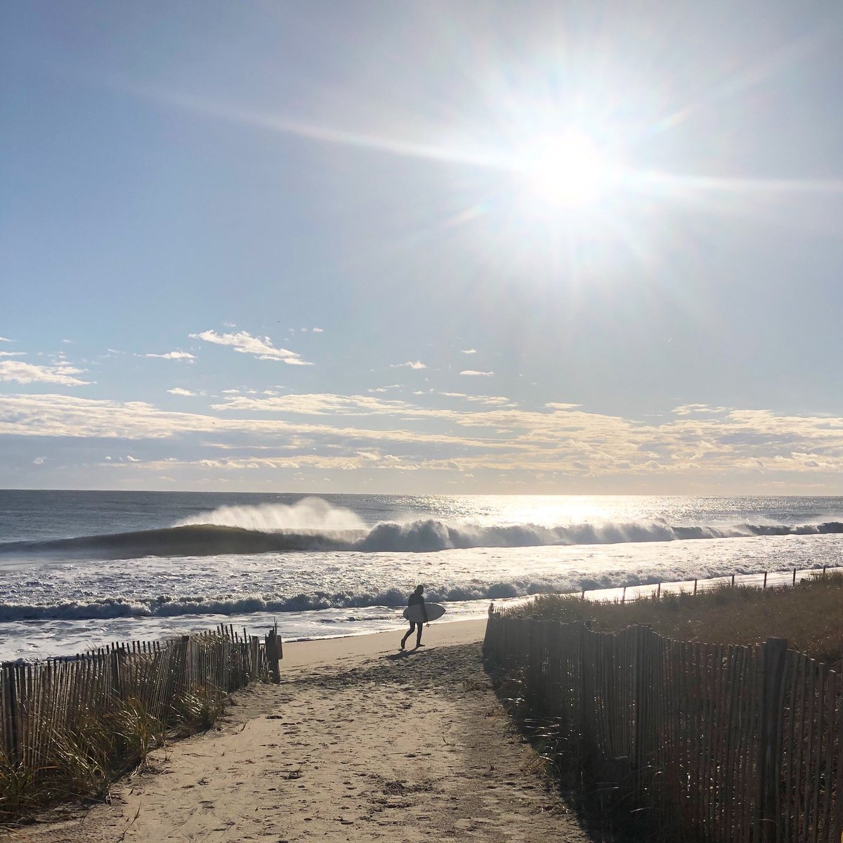 #wednesdaywisdom The calendar may say December but the beach is still the place to be. Wetsuit on and some beautiful #waves rolling in #bethanybeach  #surf #bethanybeachdelaware #Delaware #livebayside #beachrealestate #beachlife #coastaldelaware #visitdelaware #thisisdelaware