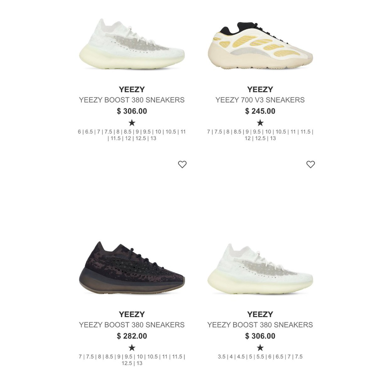 Easy cop🙌🏽Yeezy 380's and 700 on LVR     #AD