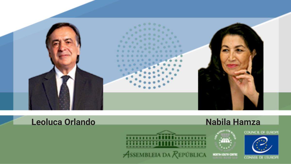 Segui in diretta la cerimonia di premiazione del Premio #Nord-#Sud @NSCentre del @coe_ita!  I vincitori di quest'anno sono la sociologa Nabila Hamza (#Tunisia) e il sindaco di #Palermo @LeolucaOrlando1 (#Italia)  #NSP2019