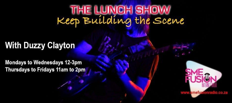 DUZZY IS BACK!!  😍🎶🎸🎧 Many thanks to @SmeFusion Radio's Duzzy Clayton for including us in today's edition of The @lunchRockShow ! Come join the party:    #indiemusic #TuneIn #ThankYou #WednesdayMotivation