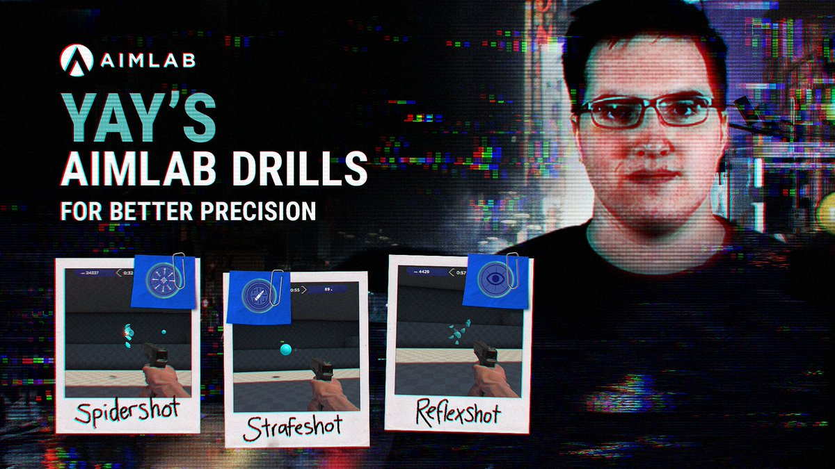 Ever wonder how @yayFPS always hits his shots? Check out his @aimlab workout for even better precision. Improve your aim with Aim Lab.