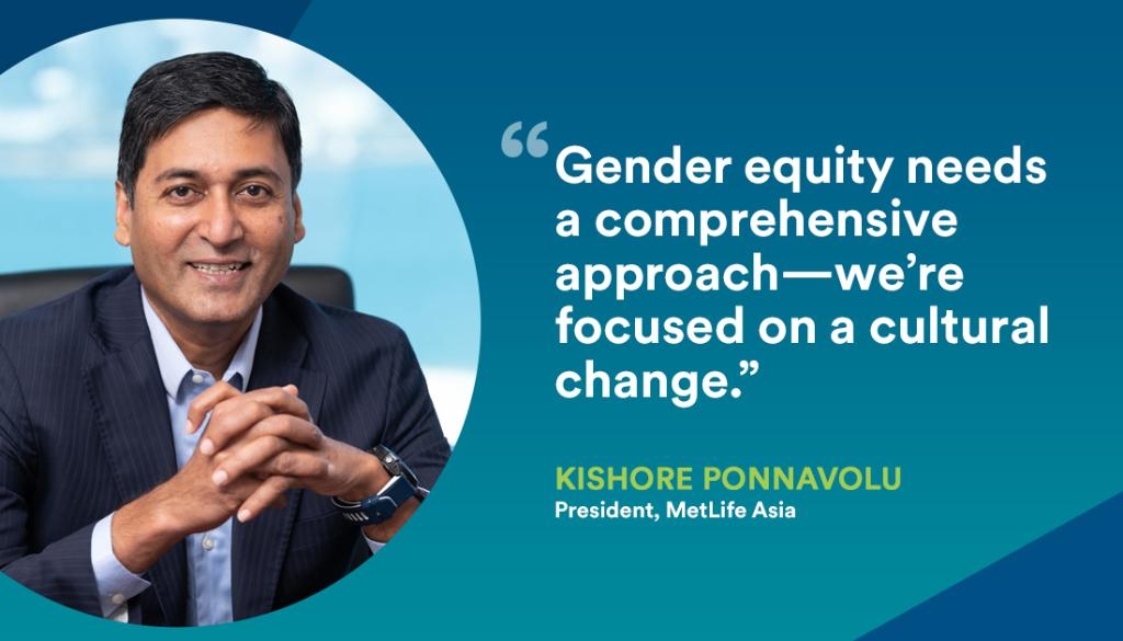 At MetLife, we are focused on empowering women in leadership, our workforce, the marketplace, and communities around the world. MetLife Asia President, Kishore Ponnavolu discussed leading gender equity at the @GlobeWomen Summit. Click for the replay: https://t.co/TnCB0AZcJA https://t.co/5hSY34UJjA