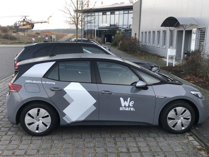 Ab sofort gibt's neue Elektroautos vom Typ VWid3, geb