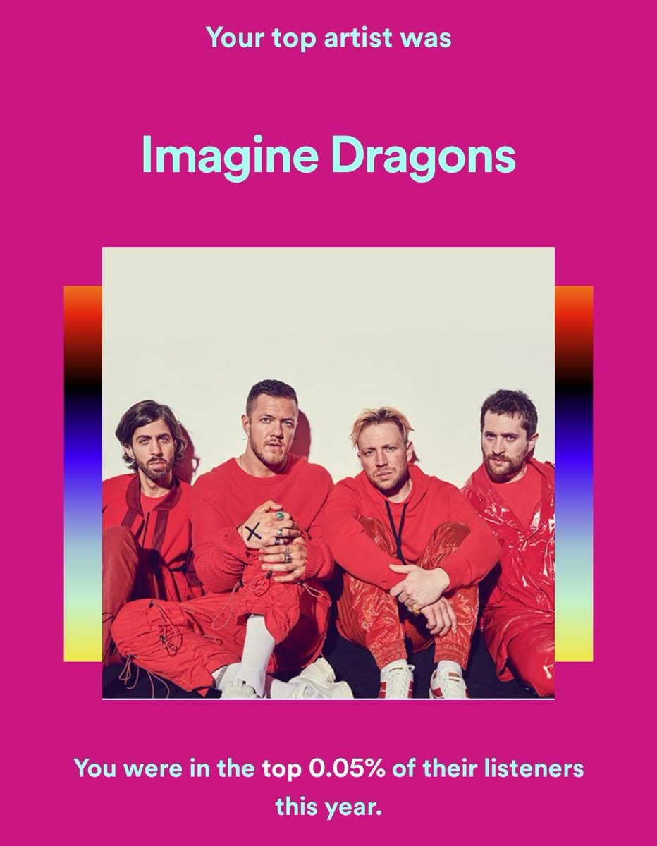 Replying to @Isa_Kole: Music is such a big part of my every day.  I'm not apolozing for how much I listen to @Imaginedragons.