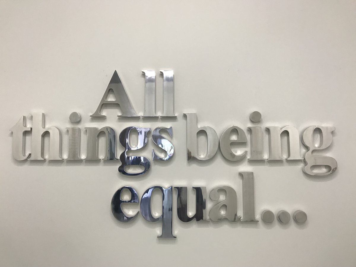 A2 The opening exhibit at @ZeitzMOCAA All Things being Equal. Visitors were asked 'How will I be represented in the museum?' Great experience, so inspiring. #TravelChatSA