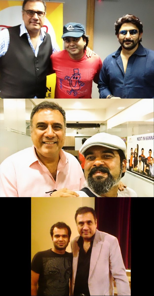 Many Many happy Returns of the day @bomanirani Sir . Love !   #RjAlok