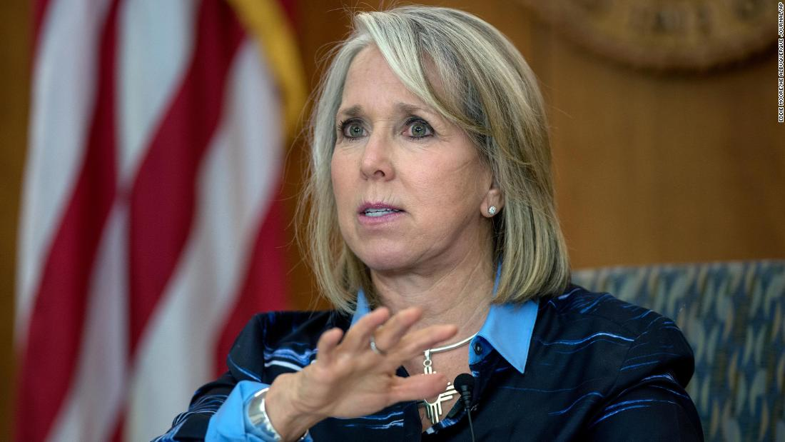 New Mexico Gov. Michelle Lujan Grisham is the top contender to lead Health and Human Services under Joe Biden, sources say. The role is central to the US pandemic response