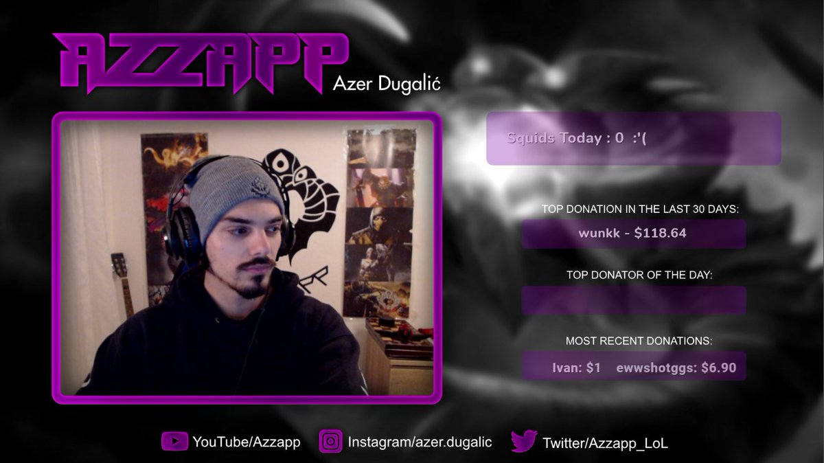 Azzapp - Flipping coins in high elo, winning lane pointlessly and creating educational content!     #VelKoz #LeagueofLegends #Streamer #TwitchStreamer #TwitchStreamers #Livestream #TwitchTv #Twitch #TwitchPartner