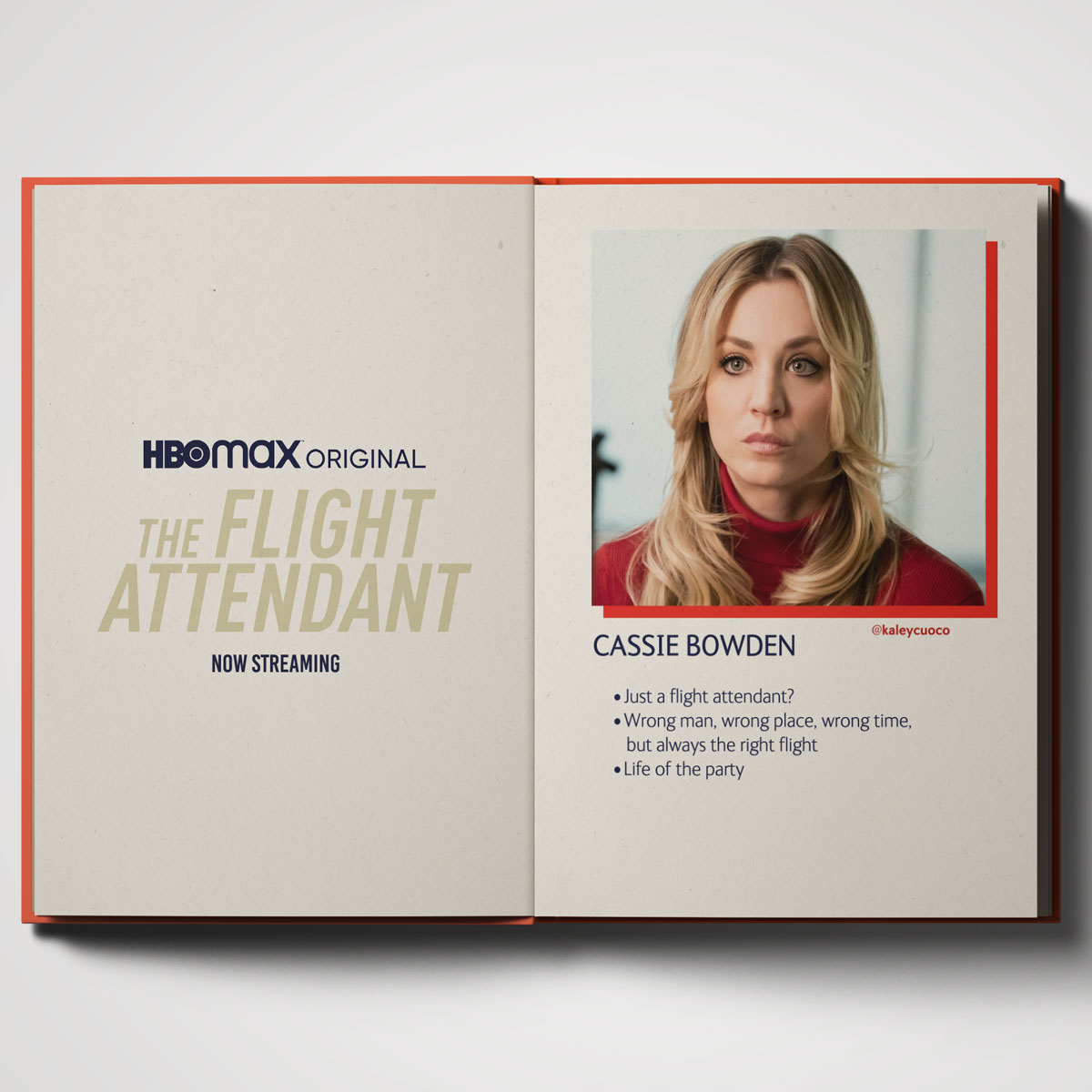 It's not just friends, board games, and Thai food anymore. Life just got serious for our girl Kaley Cuoco. The @FlightAttendant is now streaming on @HBOMax.