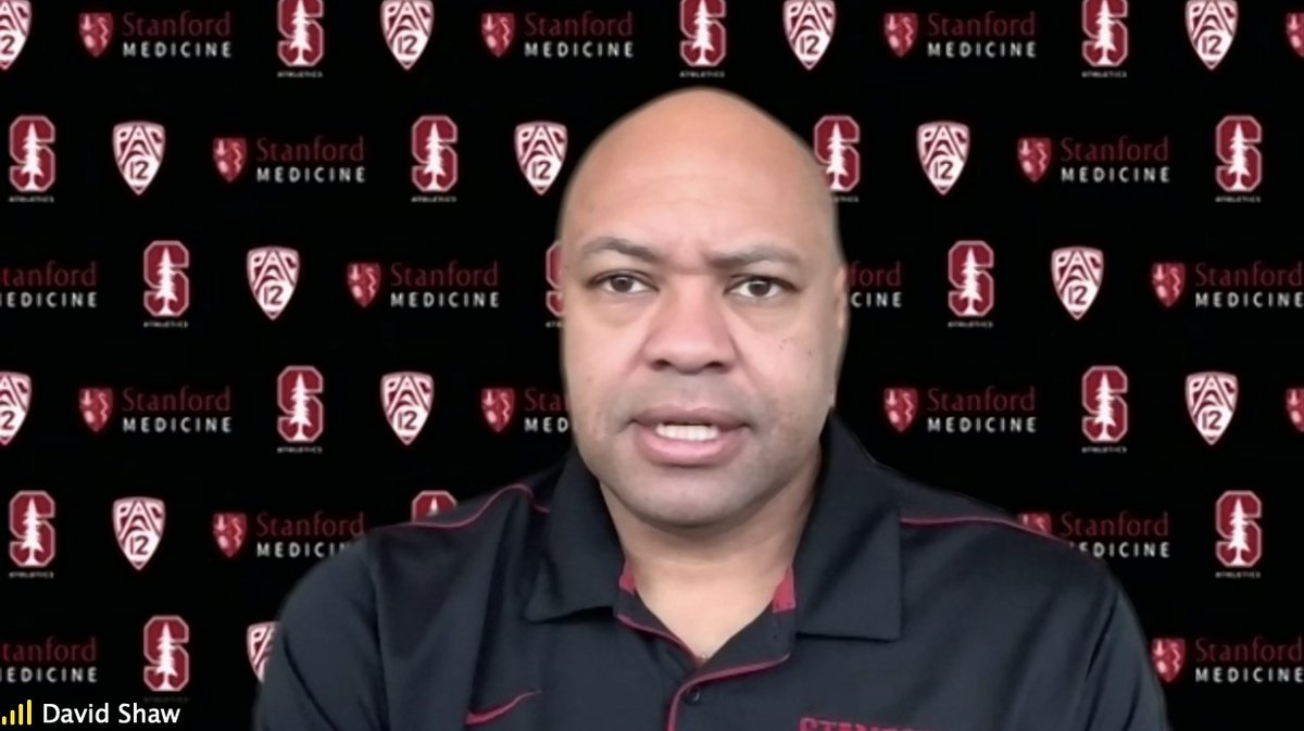 🌲🏈Stanford HC David Shaw opening statement in regards to the Santa Clara County restrictions: