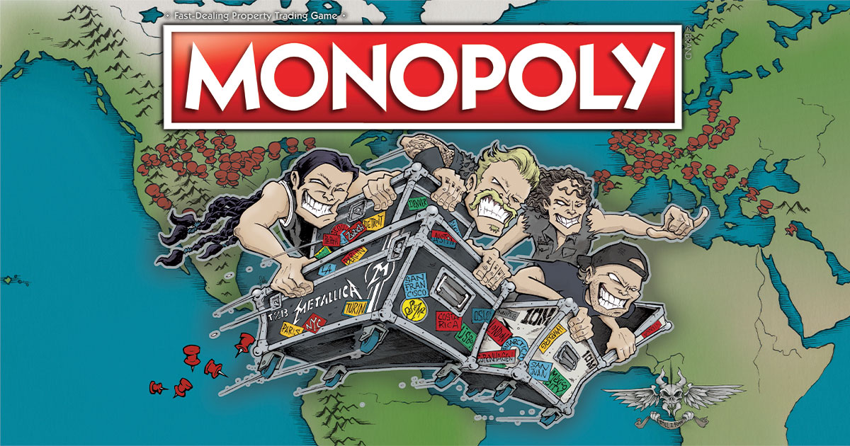 We have collaborated with #Monopoly once again to bring you an all-new, second edition of this American classic!  Available Now ➡️
