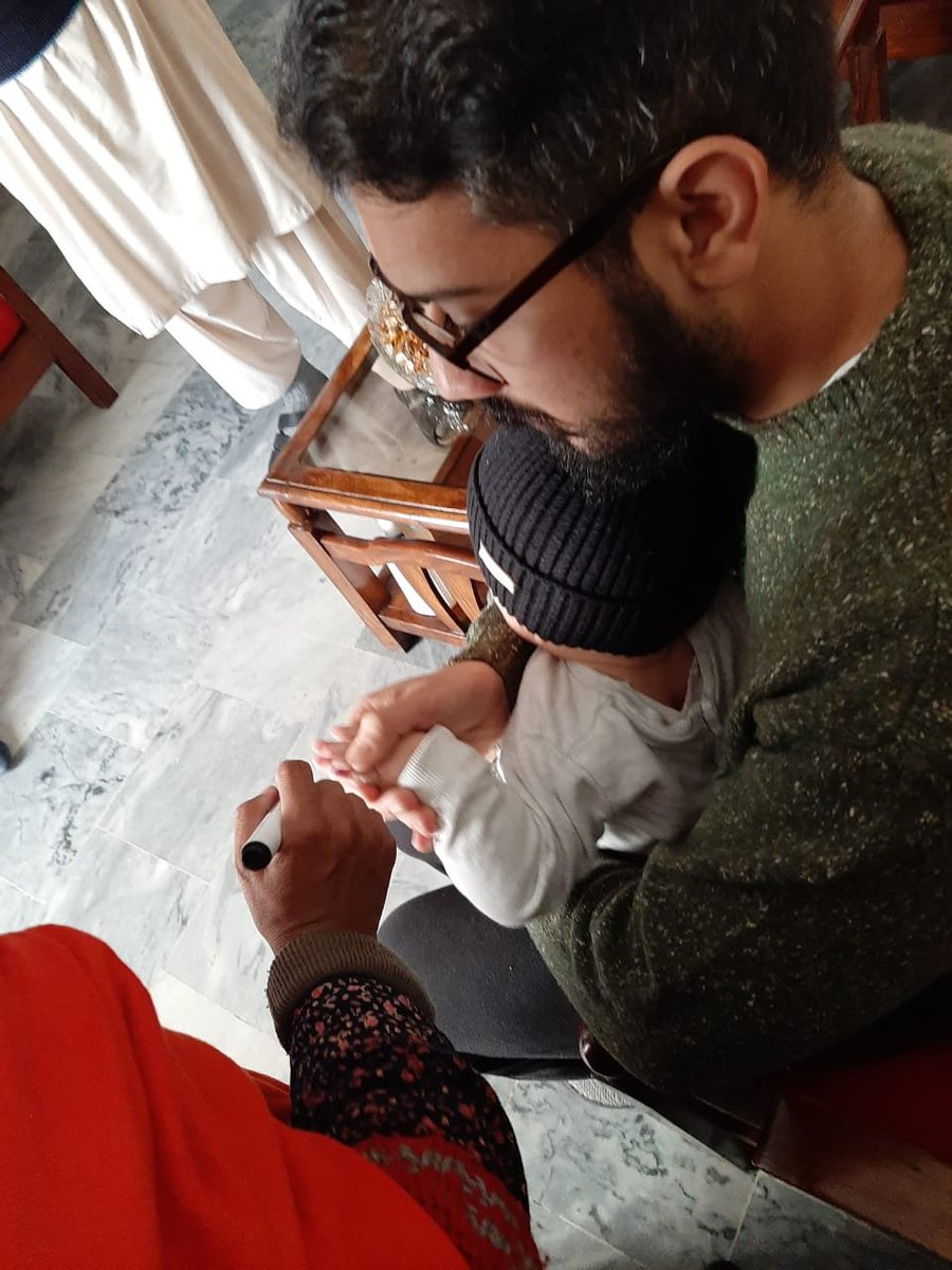 .@GovtofPunjabPK @PakFightsPolio   Rawalpindi V-Force UC 20 Rep. Haseeb & Team earlier today  #DistrictAdministration #ForEveryChild #rwpVForce #VaccinesWork   @DCRawalpindi @Sikandariii @taimurShahidZ