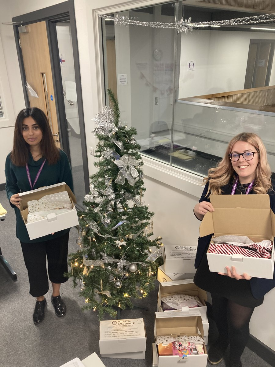Our departments have been competing to get the most shoeboxes for the Rotary Shoebox Appeal 🎄 ❄️There's still time for staff and students to donate!  Let's make Christmas brighter for those who need it 💜
