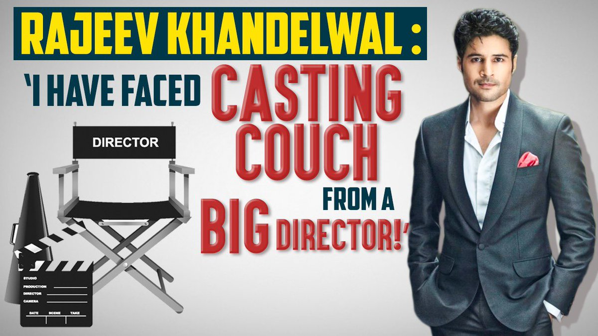 I have faced the Casting couch from a big director: @RK1610IsMe   Watch the full video on my @youtube channel:   #SidK #Naxalbari #Zee5 #RajeevKhandelwal