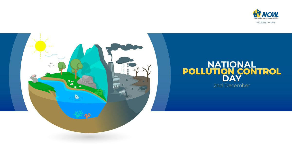 It is our responsibility to give a #cleaner and #greener planet for the next generation. On the occasion of #NationalPollutionControlDay let us all stand together to create awareness about the adverse effects of increasing #pollution on our lives & ecosystem. #pollutionfree