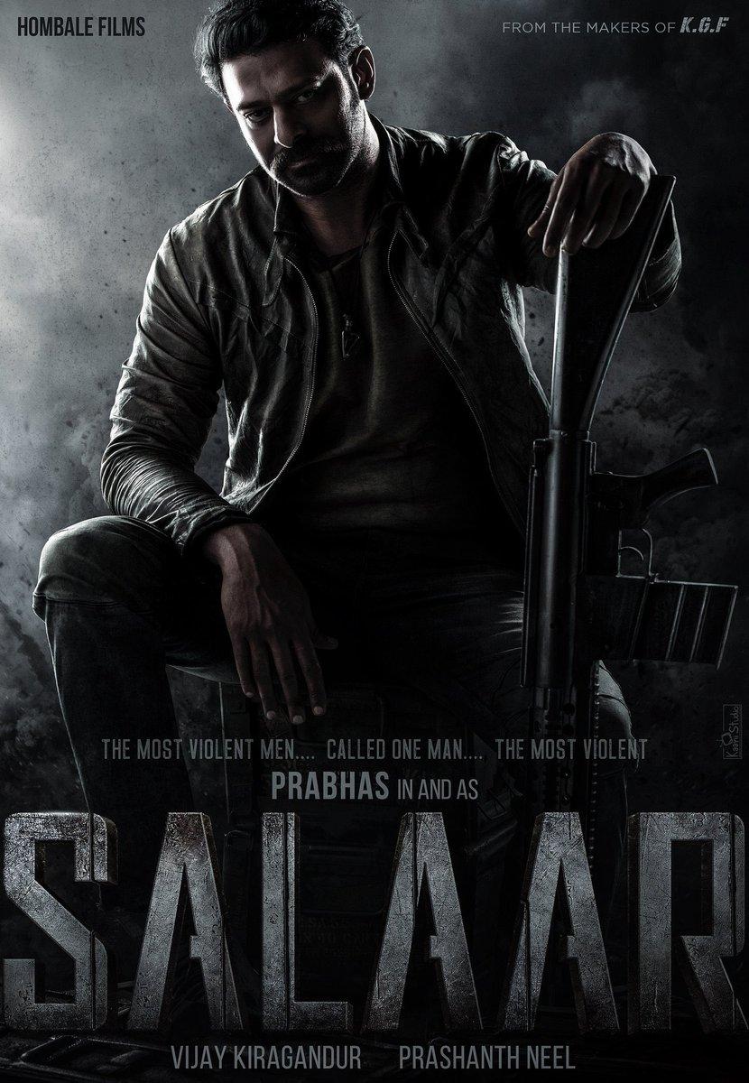 Who's excited for #SALAAR??? Can't wait for this epic action collaboration between #Prabhas & director @prashanth_neel! Shoot begins Jan 2021!  @hombalefilms @prashanth_neel @VKiragandur #KGF