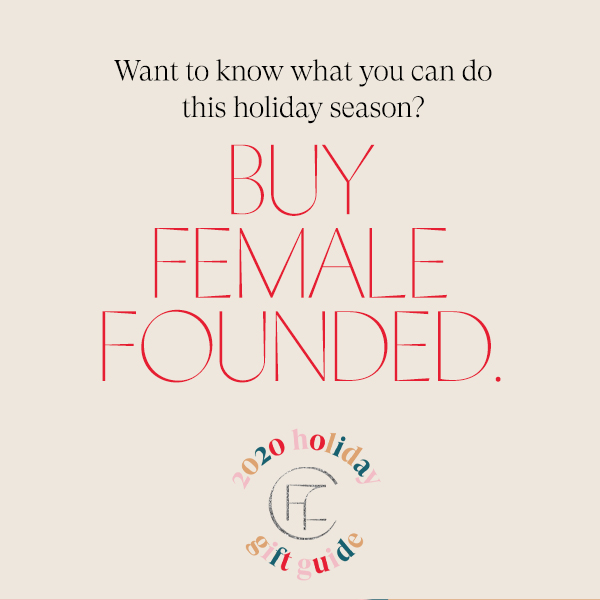 We're delighted to be a part of @thefemalefoundercollective 2020 holiday gift guide.   Check out our feature along with 100's of other 👏 female-founded brands:   #shopfemalefounded #femalefoundercollective #womanowned #womenmade #forwomen #treatyourself