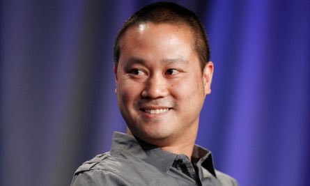 Sad news about the tragic loss of #TonyHsieh, former CEO of Zappos and author of the transformative 'Delivering Happiness'. Sincere condolences to the Hsieh family. #wednesdaythought 🌹🕊