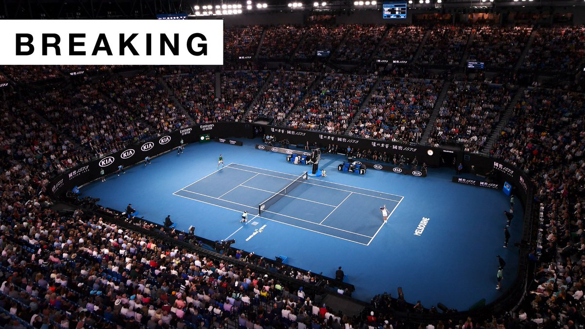 BREAKING: @AustralianOpen 2021 is now set for February 8th, three weeks later than originally planned.  #AusOpen https://t.co/BWkYNJH1vz
