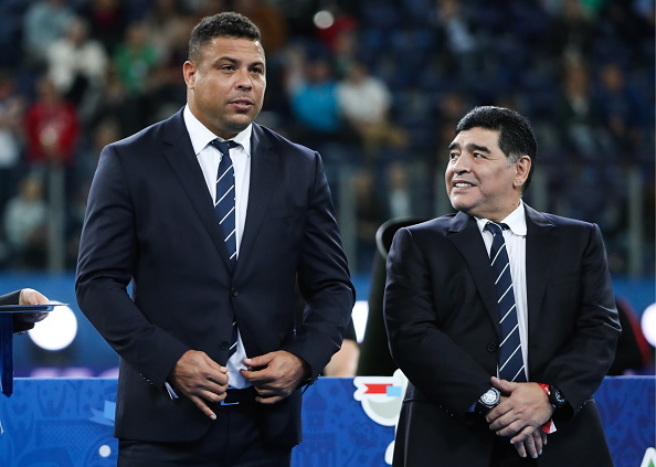 Former Real Madrid and FC Barcelona striker Ronaldo Nazario has revealed the last conversation he had with the late Diego Maradona, who died last week Wednesday. #SLInt Read: bit.ly/3mx5ukZ