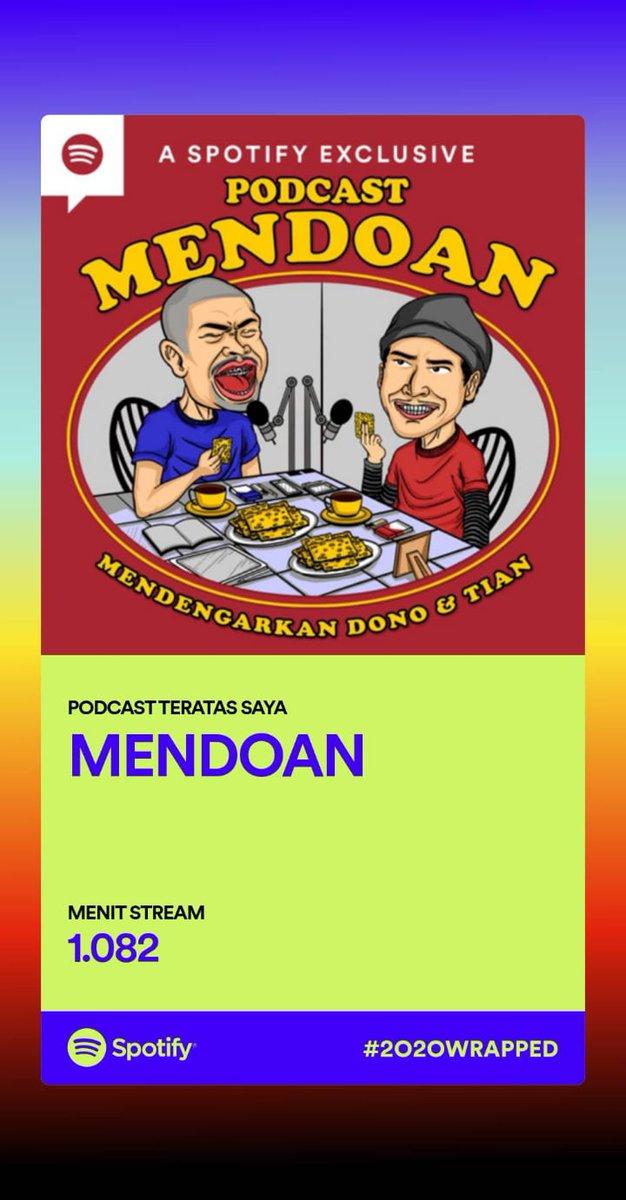 Podcastnya mas @donopradana memang bener-bener menghibur. Mulai denger sejak belum official podcast di spotify sampai sekarang akhirnya official. Terima kasih mas. Semoga tambah sombong, eh, tambah sukses podcastnya.