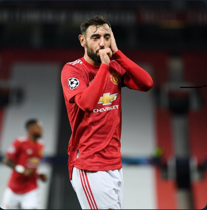 Bruno Fernandes wins Manchester United Player of the Month yet again 🥇  #Southampton #Bruno Fernandes #BHALIV #Arsenal