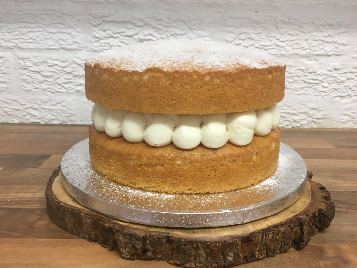 Sumptuous in size and sumptuous in flavour! Baked and collected same day for a special Birthday Treat! #homebaker #cake #freshisbest #vanillacake #victoriaspongecake #lurpak #gift #birthday #party #Celebrations #warwick #leamingtonspa #coventry #solihull