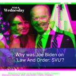 Image for the Tweet beginning: Biden appeared on superhit crime