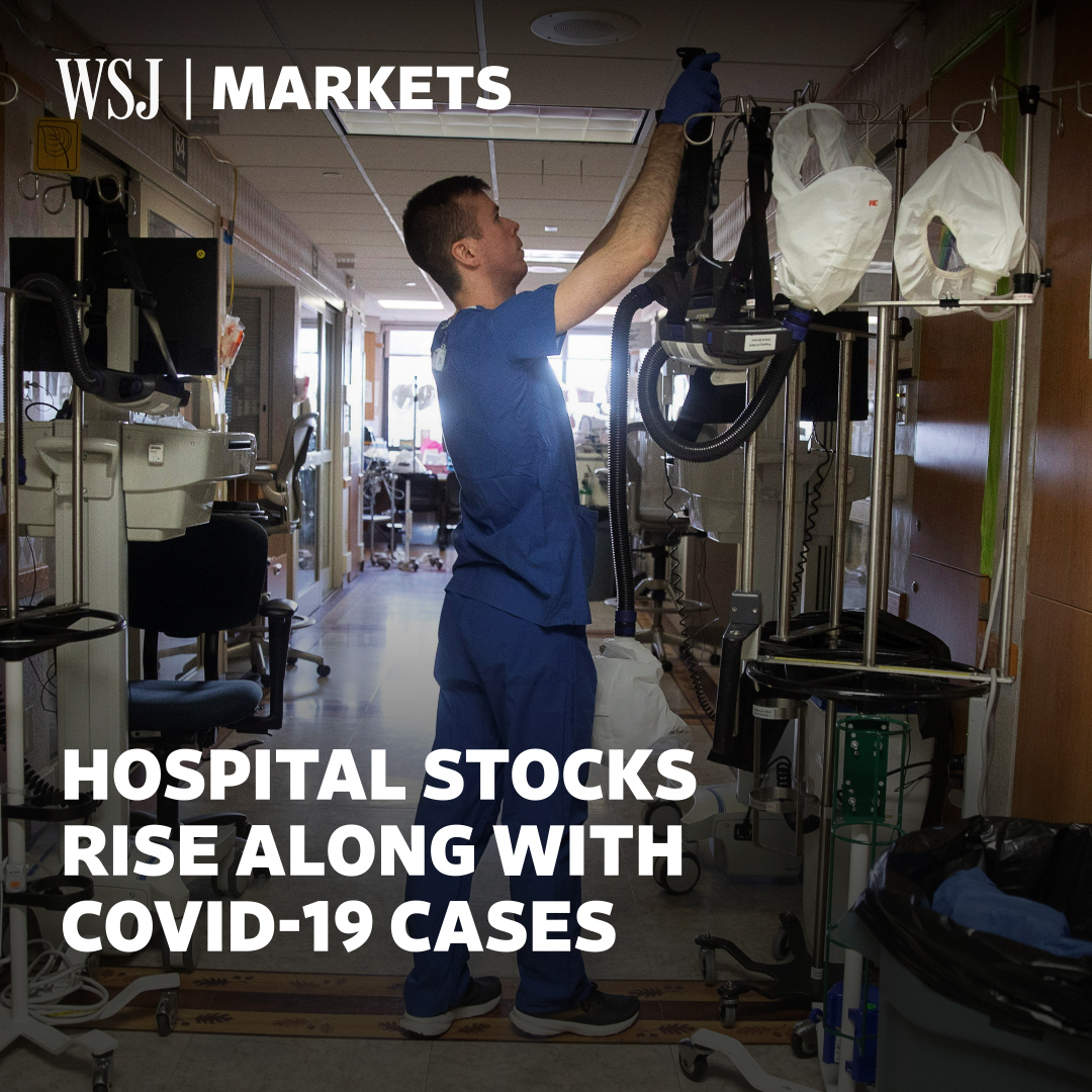 Shares in hospital operators have soared, thanks to postelection optimism and expectations that health-care services can better weather the recent coronavirus surge #WSJWhatsNow