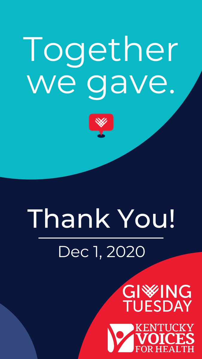 #GivingTuesday may be technically over, but we appreciate your support all year long. Miss your chance? It's never too late:  #ThankYou #UnleashGenerosity