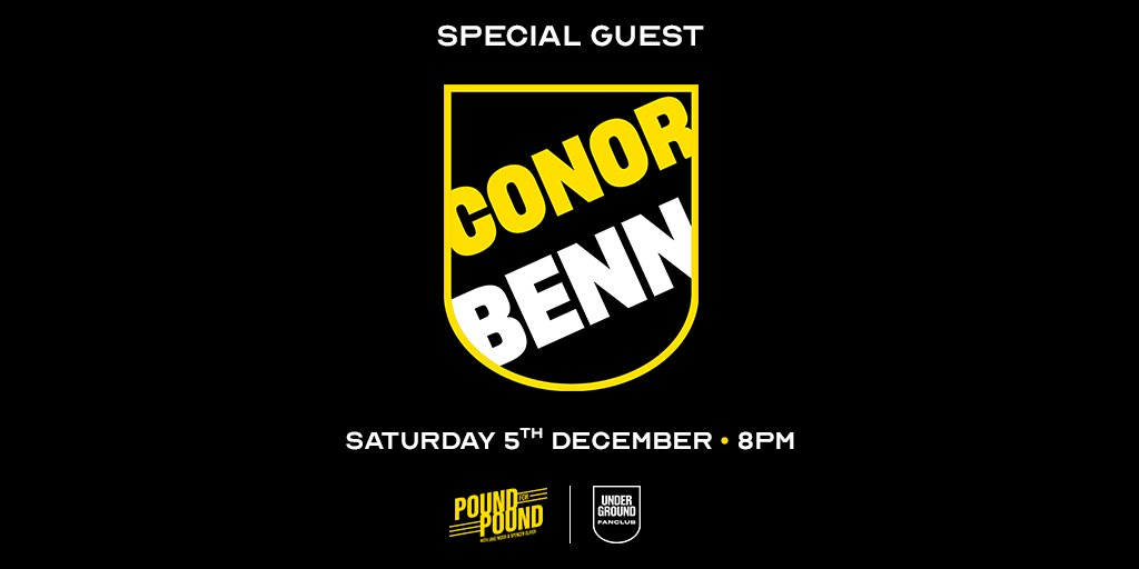 Time to introduce another guest for Saturday's @PoundPodcast FREE virtual event  💥Conor 'The Destroyer' Benn 💥  @ConorNigel will be joining @SpencerOliver @mrjakedwood & the rest of our amazing guest list for a night of boxing chat and fun👇🏼  Come join! https://t.co/Rycwgi3yuk https://t.co/qVM2eEPr7A