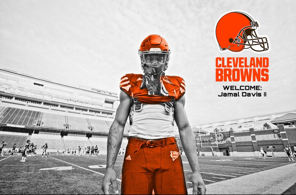 Seems like I always find my way to go ta war for my home team... Canton McKinley, University of Akron and now Cleveland Browns. Thank you to the Cleveland Browns organization for believing me. I'm truly thankful and ready to show what I can bring to the table. #Browns