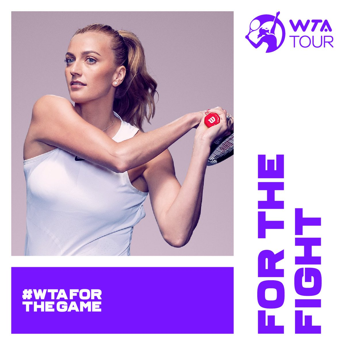 Welcome to the new era of the @WTA. I play for the game and something much bigger than myself. I play for the Fight.   #WTAForTheGame https://t.co/8LufaWTvLW