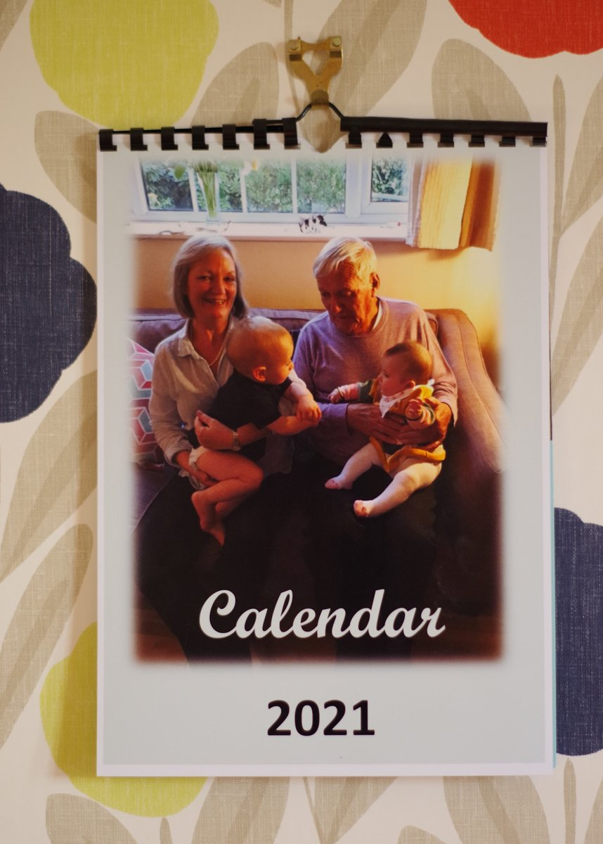 Excited to share the latest addition to my #etsy shop: Personalised photo calendar  #newyears #newyear #calendar #gifts #family #grandparents #children #pets #cards