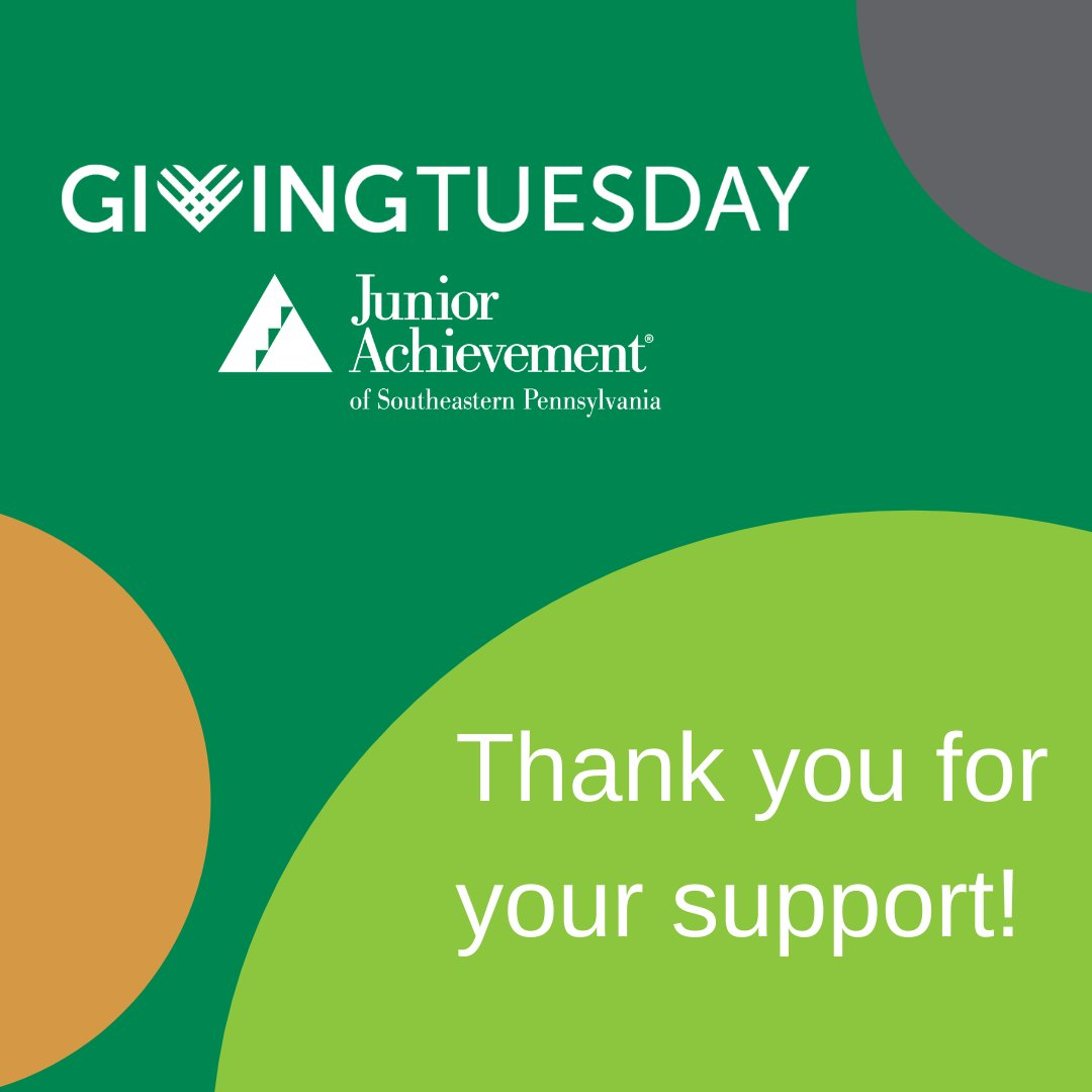Thank you so much for your support this #GivingTuesday! We are grateful and appreciate your partnership!   #UnleashGenerosity #InspireTomorrows