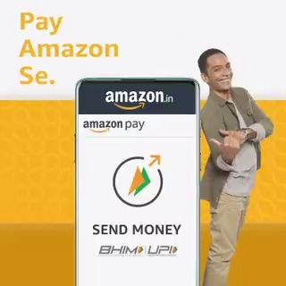Bank to bank money transfer to friends? Just send Amazon se and get exciting rewards. #PayAmazonSe