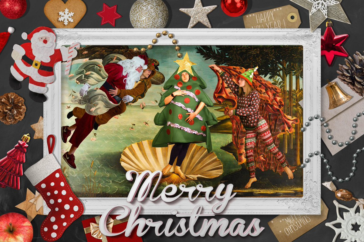 Move over Botticelli #Christmas2020 #family #ChristmasCard