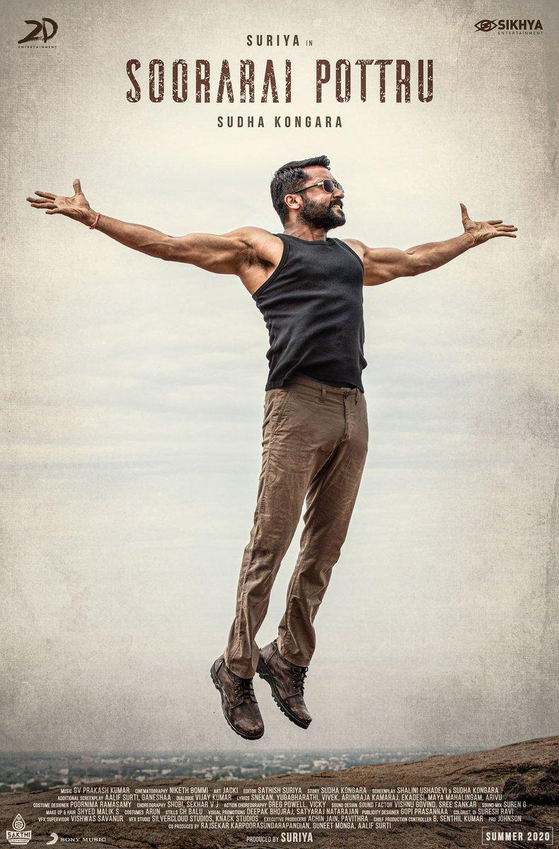@IMDb The Movie Of The Year #SooraraiPottru ✈  @Suriya_offl #SooraraiPottruOnPrime #PrideOfIndianCinemaSURIYA