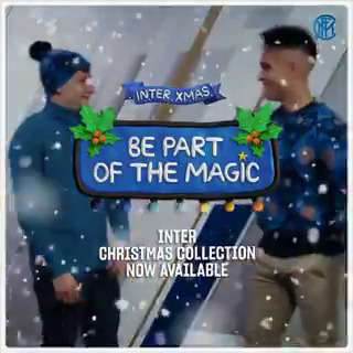 ✨ | MAGIC  Want to find out what's in the Inter Christmas Collection? Spoiler: don't ask Lautaro. 🙅♂️   #InterXmas